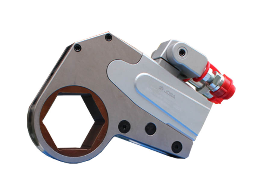 Whcd ultra thin hollow hydraulic wrench